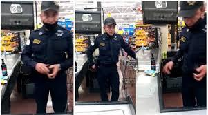Policía de Neza roba en un Walmart - La Jornada Estado de México